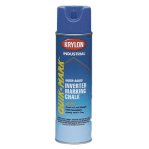 Krylon inverted marking paint can