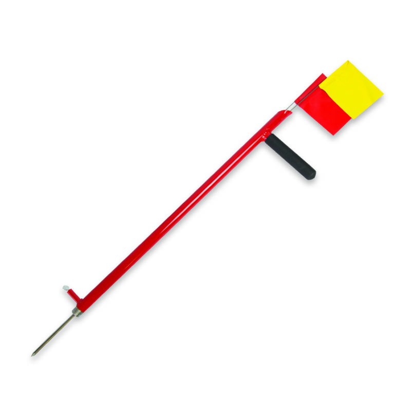 Carrier Probe Marking Flag Insertion | Construction Tools | BMC