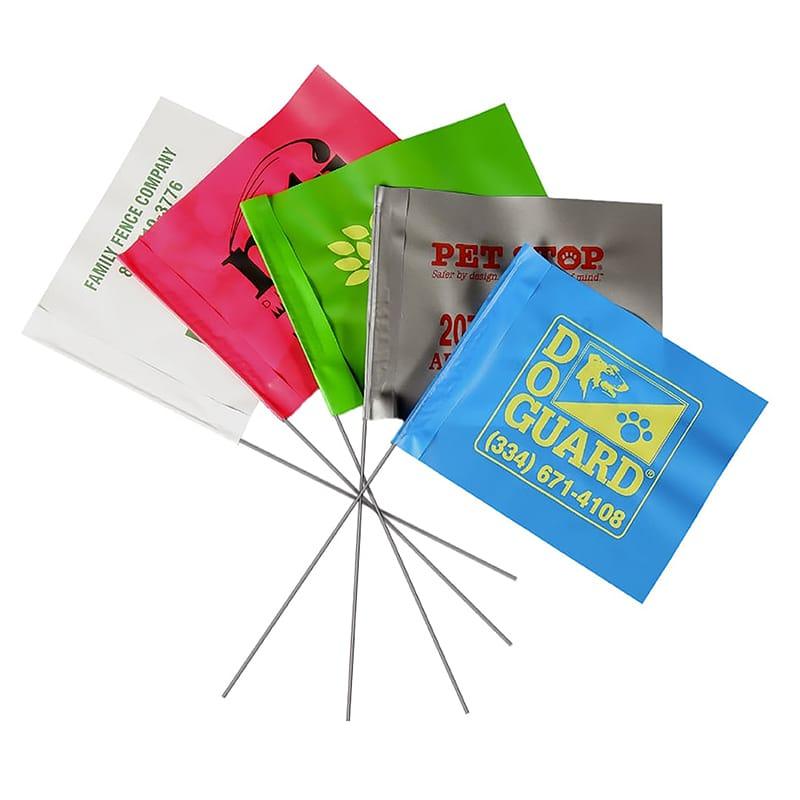 Custom Marking Flags - 4″ x 5″ | | BMC