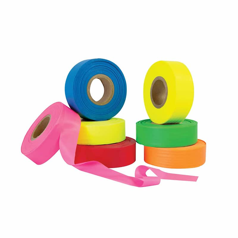 Fluorescent Flagging Tape | Manufactured by Blackburn | Wholesale